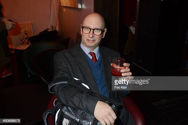 Harold Hyman from I < tele attends the 'Prix Du Style 2013' Literary Award At Palais de Tokyo on November 19 2013 in Paris France
