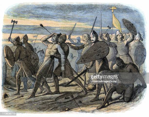 Harold II Nominated as his successor as King of Angles and Saxons by Edward the Confessor Harold killed by Norman arrow at Battle of Hastings 1066...