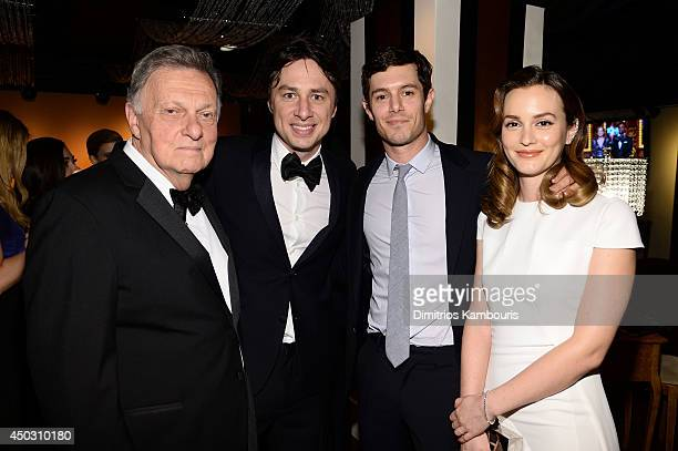 Harold Irwin Braff Zach Braff Adam Brody and Leighton Meester attend the 68th Annual Tony Awards at Radio City Music Hall on June 8 2014 in New York...