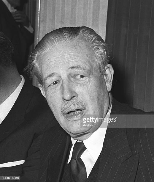 Harold Macmillan in May 1963