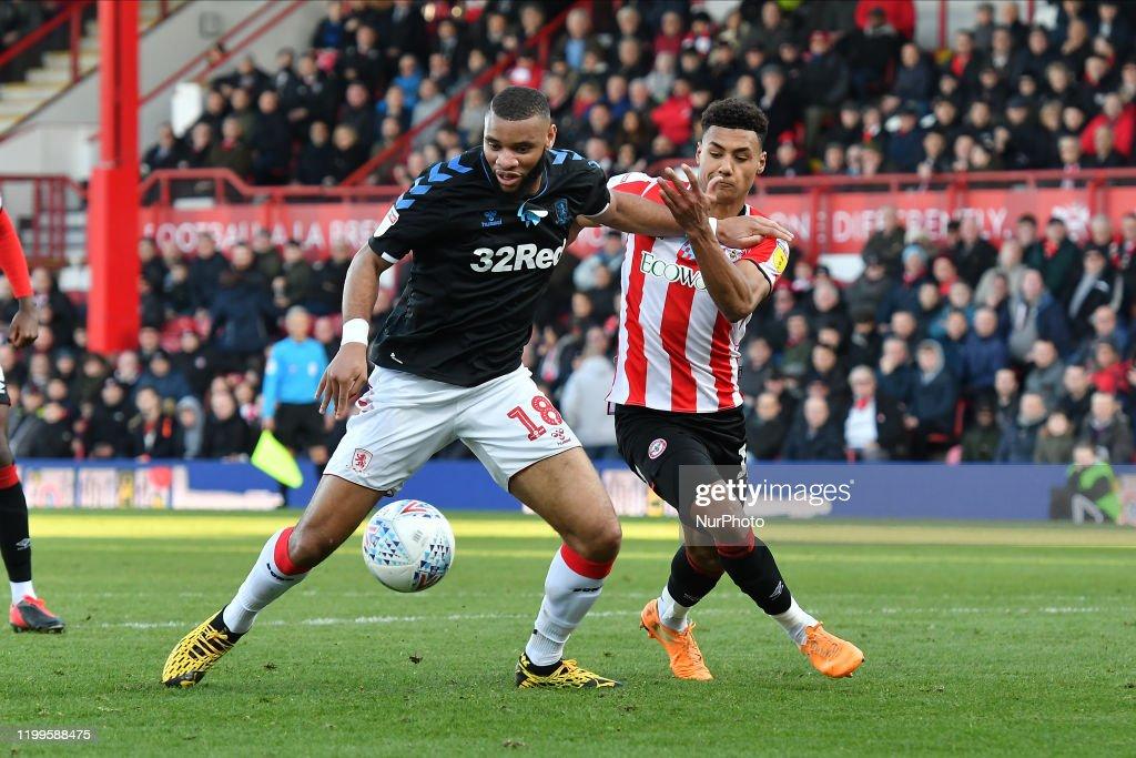 Brentford v Middlesbrough - Sky Bet Championship : News Photo