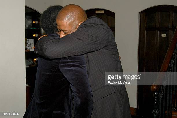 Harold Perrineau and Forest Whitaker attend HBO's Annual PRE-GOLDEN GLOBES Reception at Chateau Marmont on January 13, 2007 in Los Angeles, CA.