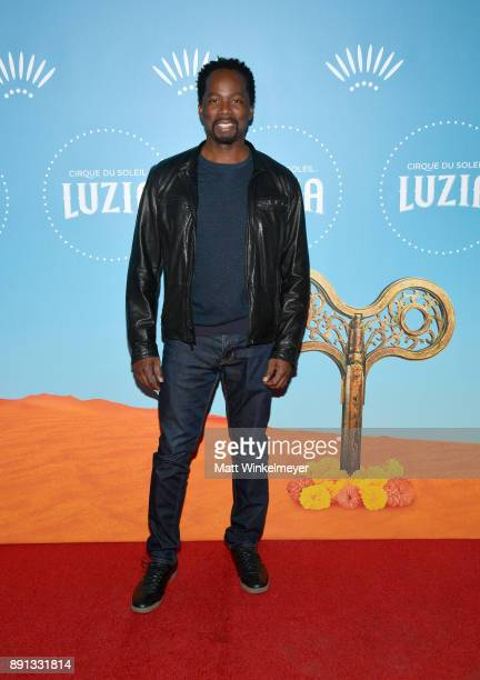 Harold Perrineau attends Cirque du Soleil presents the Los Angeles premiere event of 'Luzia' at Dodger Stadium on December 12 2017 in Los Angeles...