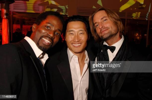 Harold Perrineau Daniel Dae Kim and Josh Holloway *Exclusive Coverage*