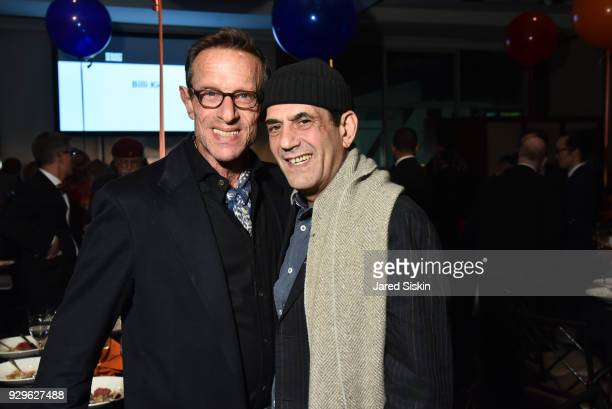 Harold Streitman and Gene DeBartolo attend Bailey House Gala Auction 2018 at Pier 60 Chelsea Piers on March 8 2018 in New York City