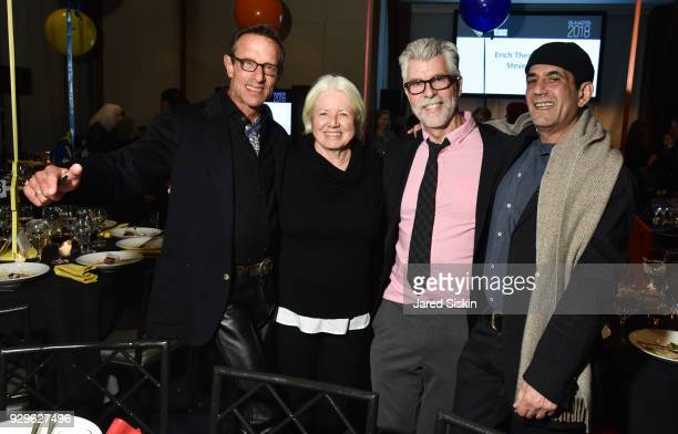 Harold Streitman Anne N Kevin Hertzog and Gene DeBartolo attend Bailey House Gala Auction 2018 at Pier 60 Chelsea Piers on March 8 2018 in New York...
