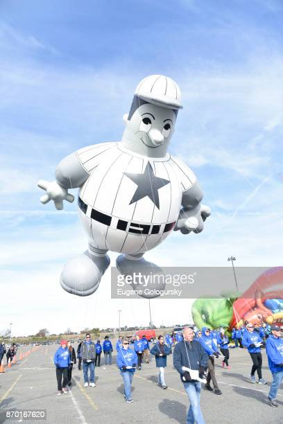 """Harold the Baseball Player returns in celebration of the 70th Anniversary of """"Miracle on 34th Street"""" during Macy's Balloonfest, ahead of the 91st..."""