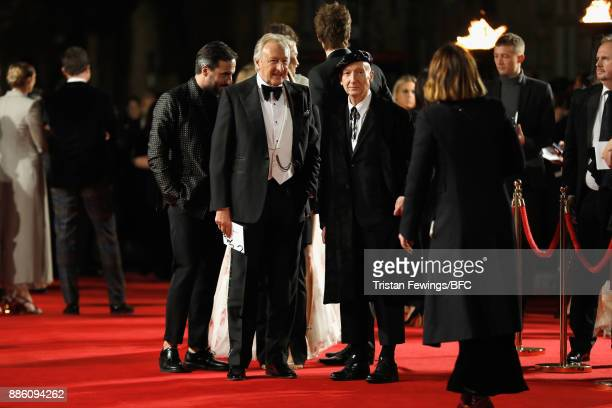 Harold Tillman and Stephen Jones attend The Fashion Awards 2017 in partnership with Swarovski at Royal Albert Hall on December 4 2017 in London...