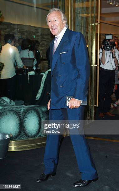Harold Tillman attends the Mulberry party for Fashion's Night Out at Mulberry Store on September 6 2012 in London England