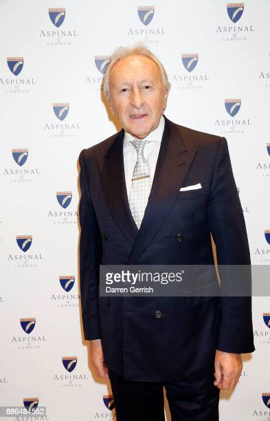 Harold Tillman attends the new flagship store launch of Aspinal on Regent's Street St James's on December 5 2017 in London England