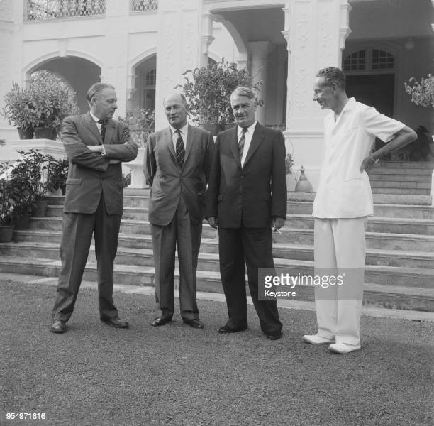 Harold Watkinson , the British Minister of Defence, visits Singapore for a series of meetings on the defence of the Far East, 26th March 1962. From...