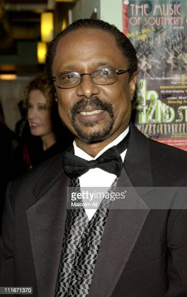 Harold Wheeler during Hattie and Harold's on Stage Cabaret at The Alex Theatre in Glendale California United States