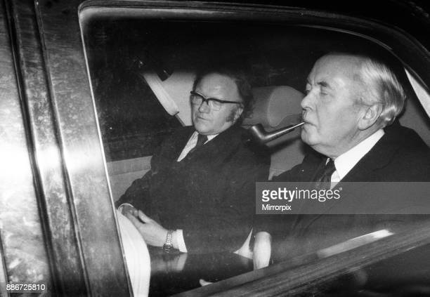 Harold Wilson Cabinet Stock Photos And Pictures