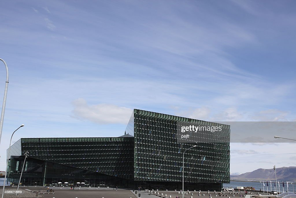 Harpa Concert Hal, Iceland : Stock Photo