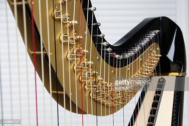 harp - stringed instrument stock pictures, royalty-free photos & images