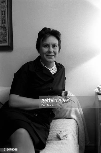 Harper Lee American novelist, July 1960.