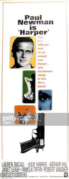 Harper poster Paul Newman Pamela Tiffin 1966