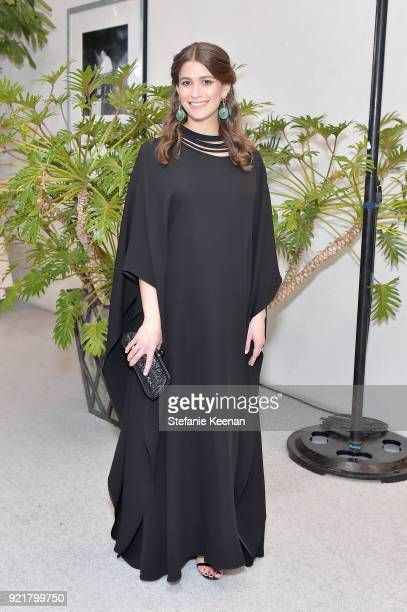 Harper's BAZAAR Accessories Director Amanda Alagem attends the Costume Designers Guild Awards at The Beverly Hilton Hotel on February 20 2018 in...