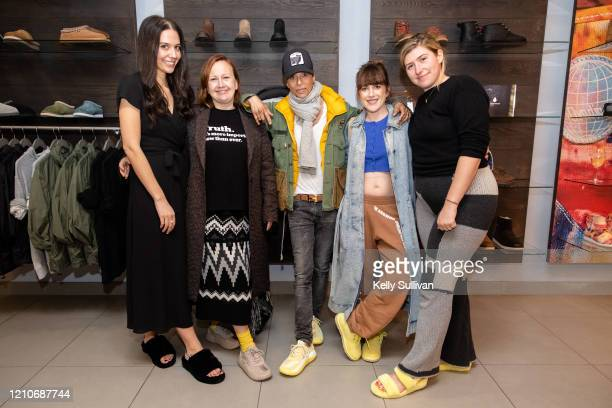 Harper's Bazaar Fashion Accessories Editor Jaclyn Cohen UGG Brand President Andrea O'Donnell Chef Dominique Crenn Artist Claire Tabouret and Designer...