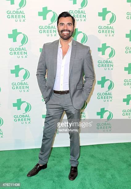 Harper's Bazaar Interiors Luigi Irauzqui attends the Global Green USA 19th Annual Millennium Awards on June 6 2015 in Century City California