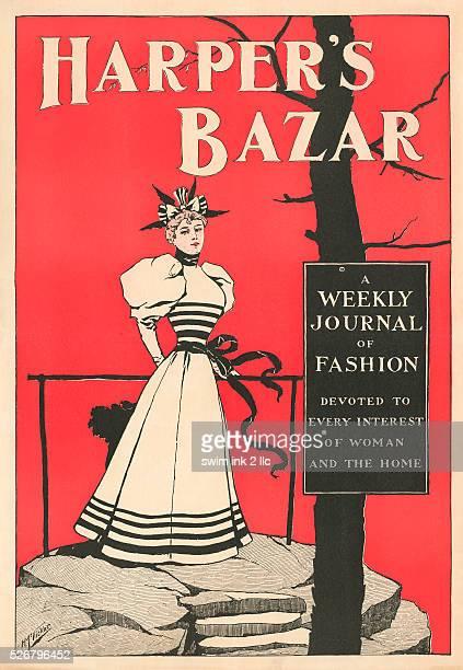 Harper's Bazar Poster by H McVickar