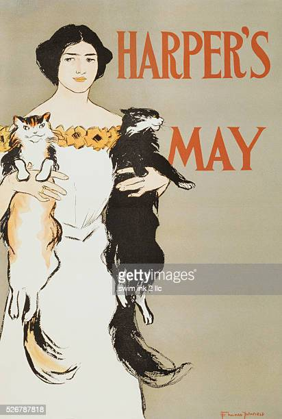 Harper's May Illustration by Edward Penfield
