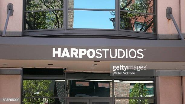 Harpo Studios during Oprah Winfrey Mania Farewell to The Oprah Winfrey Show after 25 Years in Chicago