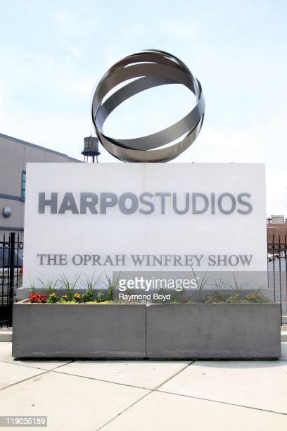 Harpo Studios home of The Oprah Winfrey Show in Chicago Illinois on JUNE 12 2011