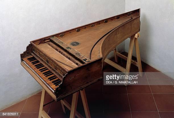 Harpsichord 1577 16th century Florence Museo Bardini