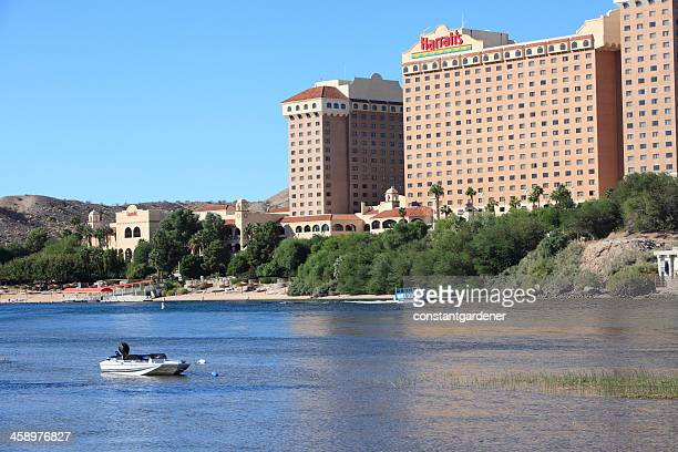 harrah's casino and hotel laughlin nevada - harrah's stock pictures, royalty-free photos & images