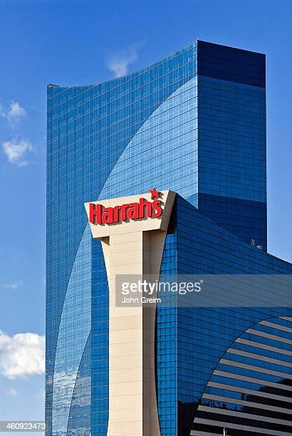 Harrahs casino exterior.
