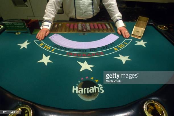 Harrahs Casino on January 3, 1996 in Las Vegas, Nevada.