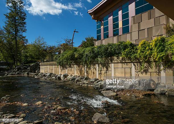 Harrah's Cherokee Casino & Resort is viewed on October 22, 2016 in Cherokee, North Carolina. Located near the entrance to Great Smoky Mountains...
