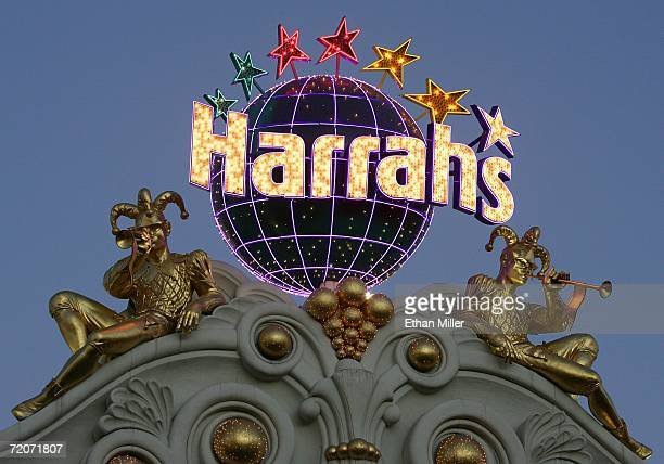 Harrah's Las Vegas sign outside of the hotelcasino October 2 2006 in Las Vegas Nevada Harrah's Entertainment Inc the largest casino operator in the...