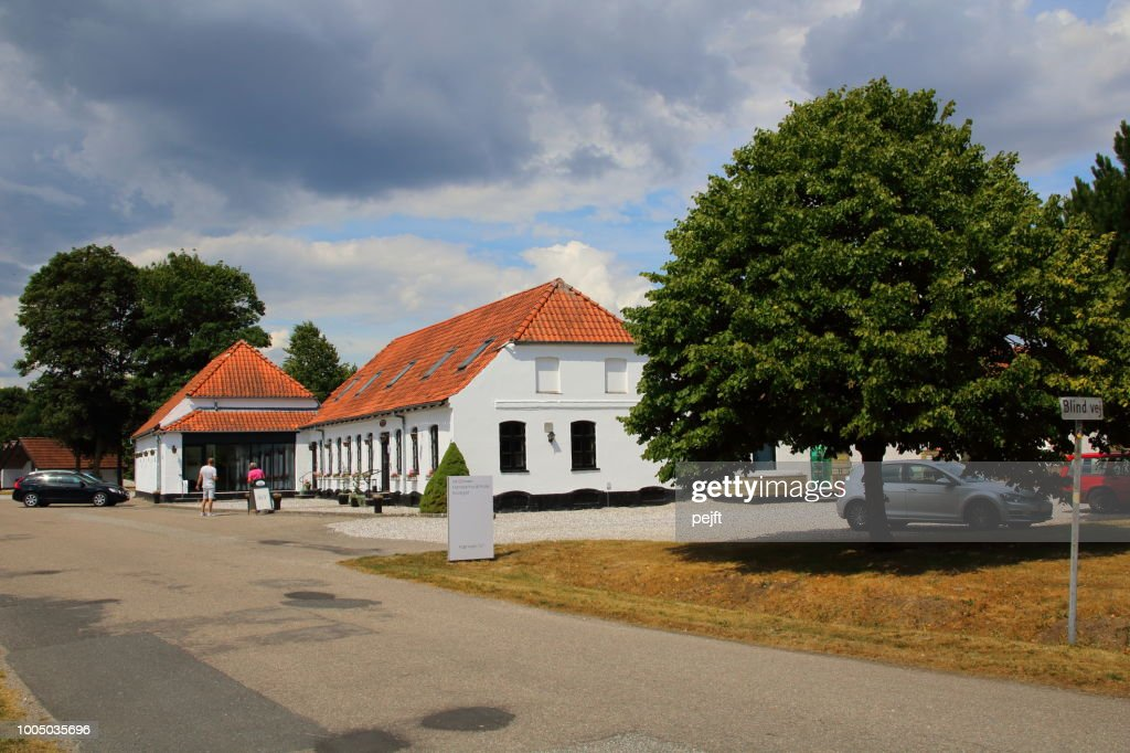 Harresoe Kro Inn Jutland, Denmark : Stock Photo