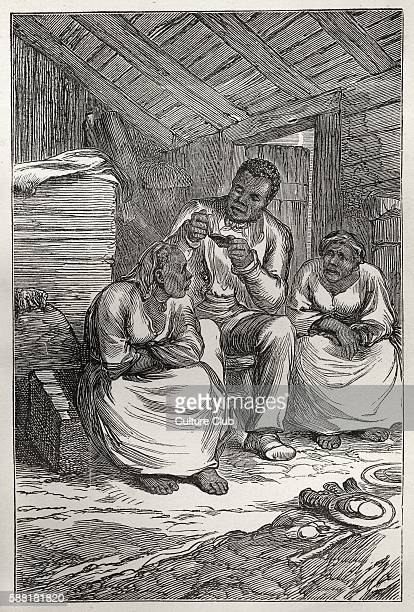 Harriet Beecher Stowe s novel Uncle Toms Cabin A Tale of Life Among the Lowly First published 1852 illustration from early 20th century edition Tom...