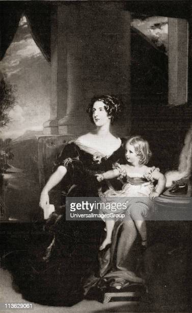 Harriet Duchess of Sutherland18061868 First Mistress of the Robes to Queen Victoria From a painting by Sir T Lawrence at Stafford House From the book...