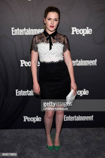 Harriet Dyer of The InBetween attends Entertainment Weekly PEOPLE New York Upfronts celebration at The Bowery Hotel on May 14 2018 in New York City