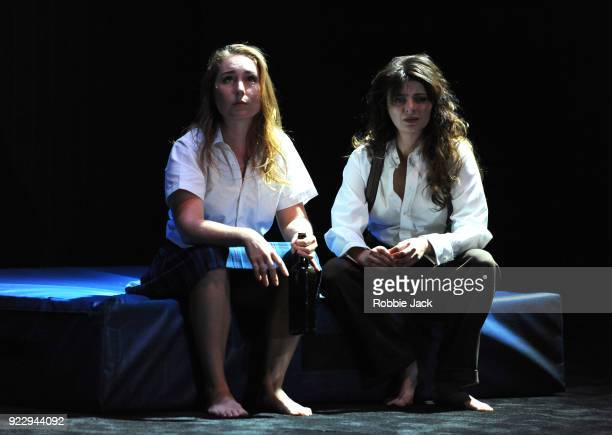 Harriet GordonAnderson and Amber McMahon in Malthouse Theatre / Black Swan State Theatre's production of Joan Lindsay's Picnic at Hanging Rock...