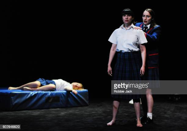 Harriet GordonAnderson Arielle Gray and Elizabeth Nabben in Malthouse Theatre / Black Swan State Theatre's production of Joan Lindsay's Picnic at...