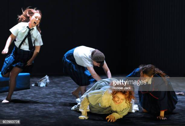 Harriet GordonAnderson Arielle Gray Nikki Shiels and Elizabeth Nabben in Malthouse Theatre / Black Swan State Theatre's production of Joan Lindsay's...