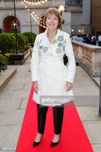 Harriet Harman attends the ENO Gala 2018 A Celebration of Women in Opera at Gibson Hall on April 19 2018 in London England