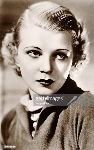 Harriet Hilliard American singer and actress circa 1935