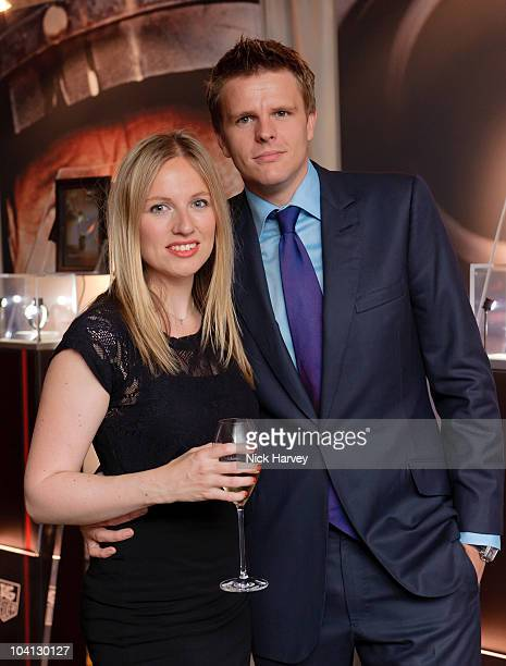 Harriet Humphrey and Jake Humphrey attend the 150th anniversary party of TAG Heuer at Selfridges on September 15 2010 in London England