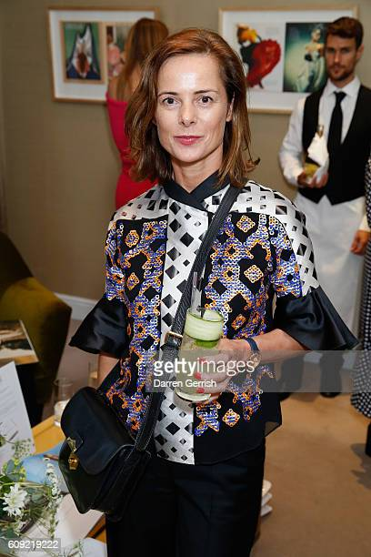 Harriet Quick attends Vogue Voice of a Century book launch at Matches Fashion on September 20, 2016 in London, England.