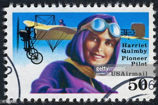 harriet quimby stamp - harriet stock photos and pictures