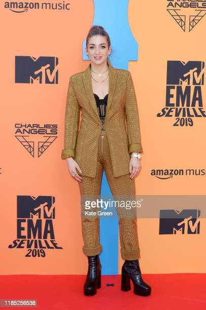 Harriet Rose attends the MTV EMAs 2019 at FIBES Conference and Exhibition Centre on November 03 2019 in Seville Spain