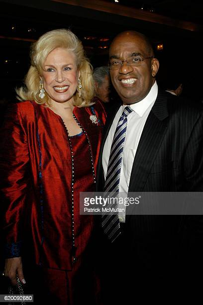 Harriet Rose Katz and Al Roker attend 10th Annual CCap Benefit Honoring Chef Alfred Portale at Pier Sixty at Chelsea Piers on February 27 2008 in New...