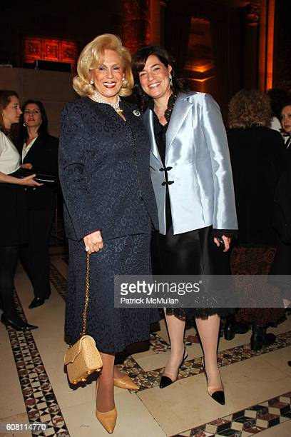 Harriet Rose Katz and Melissa Rosenbloom attend The FOOD ALLERGY Initiative's Spring Luncheon at Cipriani 42nd Street on April 17 2007 in New York...