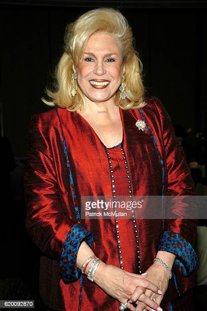 Harriet Rose Katz attends 10th Annual CCap Benefit Honoring Chef Alfred Portale at Pier Sixty at Chelsea Piers on February 27 2008 in New York City